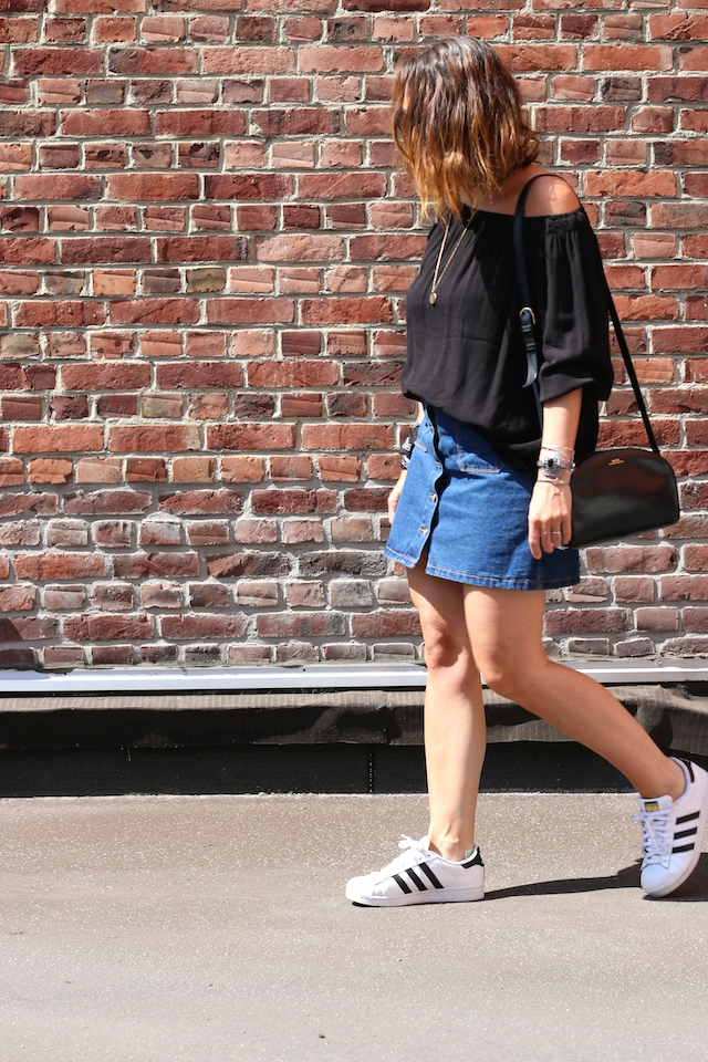 Juste juliette, blog mode, blog mode lille, fashion blogger, lille, new look, euralille, concours , adidas, superstar, apc